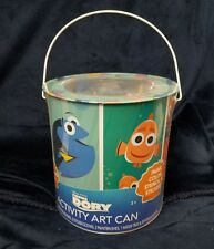 Finding Dory activity art can paint color stencil and sticker Nemo Hank