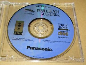 Pebble Beach Golf (Game Only) Panasonic 3DO Fast Shipping