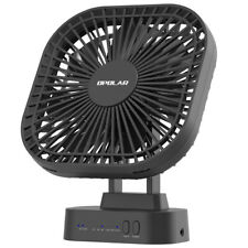 Battery Operated Desk Fan,USB&Battery Powered,Small Mini Personal Fan,With Timer