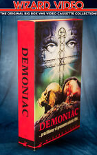 Jess Franco's DEMONIAC - VHS BIG BOX - Wizard Video 1975 Jess Franco, Grindhouse
