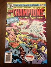 CHAMPIONS #6 Black Widow Ghost Rider (1976) VERY FINE/NEAR MINT!!