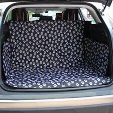 Car Seat Back Cover Footprint Pattern Mat Waterproof Pet Trunk Protector