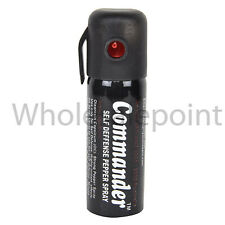 Commander Self Defense Pepper Spray For 100% Women & Men Personal New Protection