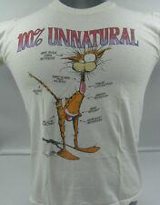 New listing Vintage Bloom County T-Shirt, 100% Unnatural, Men's Medium