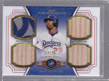 2012 Topps Museum Collection Primary Pieces Quad Relics Gold Matt Kemp 14/25