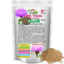 500g (1.1 lb) Milk Thistle (Silymarin) Seed Powder - Free Shipping