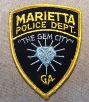 GA Marietta Georgia Police Patch (4In)