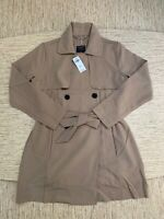 Women's Abercrombie A&F Drapey Trench Coat Large Khaki - New With Tags