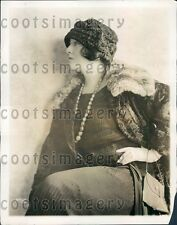 1926 Radio Singer Hulda Lashanaka Atwater Kent Radio Hour Press Photo