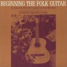 JERRY SILVERMAN: BEGINNING FOLK GUITAR: AN INSTRUCTION RECORD (CD.)