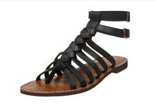 Sam Edelman Greco Black Gladiator Flat Sandals Size 7.5