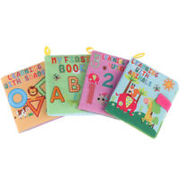 Soft Cloth Books Rustle Sound Infant Educational Rattle Toy Newborn Baby Toys ZB