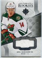 16/17 UPPER DECK ULTIMATE ROOKIE RC JERSEY JOEL ERIKSSON EK 184/249 WILD *47274