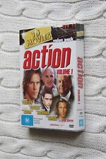10 Movies Action Vol. 1 (DVD), Region: All, New and sealed. Free shipping