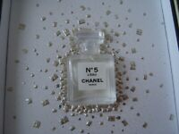 Chanel  N5  L'eau  EDT  Miniature  Holiday  Collectible mini size  1.5 ml