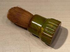Old Vtg 1950's Sterilized EVER-READY Green Catalan Shaving Shave Brush