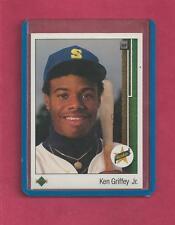 1 Ken Griffey Jr. Card Seattle Mariners Upper Deck # 1 Rookie EX Near Mint
