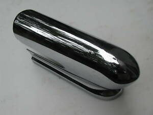 DESOTO FIREFLITE FIREDOME FRONT GRILLE BUMPER END  1955