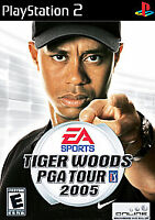 Tiger Woods PGA Tour 2005 (Sony PlayStation 2, 2004) PS2, Disc Only, Tested