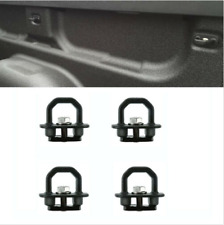 4Pcs Truck Bed Tie Downs Pickup Anchors Side Wall Hook Rings Fit for GMC Chevy