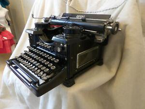 Machine à écrire Royal 88 noire vintage de 1931 RARE