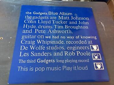 The Gadgets Blue Album Vinyl