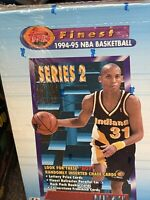 1994-95 TOPPS  FINEST SERIES 2 NBA BASKETBALL Factory Sealed Box Refractor Cards