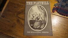 1936 Playbill The Brodhurst Theatre VICTORIA REGINA Helen Hayes.Vincent Price