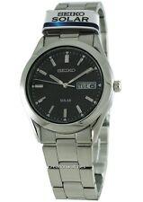 Seiko Solar Quartz SNE039P1 SNE039 SNE039P Men's Watch