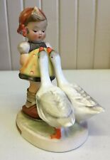 Goebel Hummel Titled Goose Girl #47/0 Tmk 3 (A)