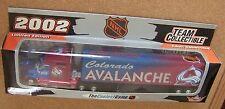 COLORADO AVALANCHE NHL 2002 TRACTOR TRAILER REPLICA SEMI DIECAST TRUCK 1:80 SCL