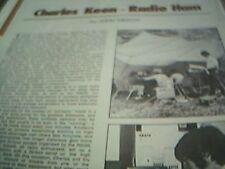 ephemera 1971 kent charles keen radio ham southborough