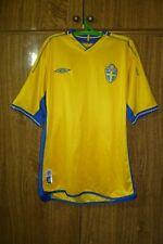 Sverige Sweden Umbro Football Shirt Home 2003/2004/2005 Soccer Jersey Men Size M