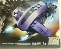 MEGA BLOKS HALO Jul 'Mdama and Covenant Commander Build set 116 PCS CNH23 NEW