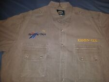 Cabelas shooting shirt Size Xxl button up with pockets.Usa Sporting Clays Kemen