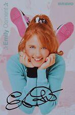 EMILY OSMENT - Autogrammkarte - Signed Autograph Autogramm Clippings Sammlung