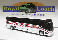 "National (part of Martz) on an 11"" Brand New Mold Mci ""J"" Plastic Bank Bus"