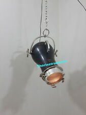 Hollywood Industrial Wave Nautical Hanging Light decor