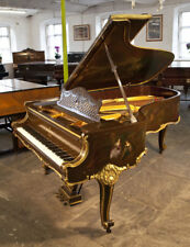 A 1904, Rococo Style, Steinway Model B grand piano with hand-painted scenes