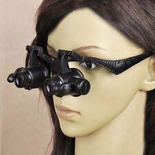 10X 15X 20X 25X LED Eye Jeweler Watch Repair Magnifying Glass Magnifier Loupe BE