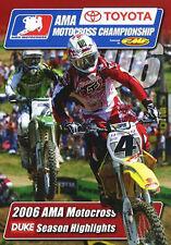 AMA MOTOCROSS CHAMPIONSHIP 2006 - DVD - REGION 2 UK