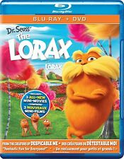 Dr. Seuss The Lorax (Blu-ray/DVD, 2012) *Includes Slipcover*