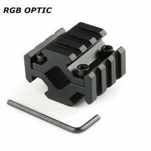 RGB Universal 3 Slot Barrel Mount Base For Scope Sight Laser 4 Sides 20mm Rail