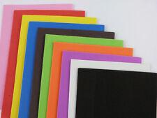 Foam Sheets 10 Different Colours EVA 15x10.5cm