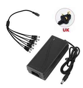 Power Adapter, 12 Volt 5 Amp, 12V 5A Supply for LED Strips Light , LCD Monitor