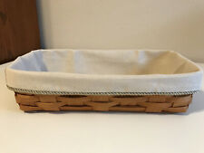 Bread Basket Liner from Longaberger Flax Fabric