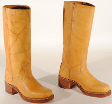 Frye Womens Campus 14L Leather Boots #77050 Size 6 M Banana USA $298  Box #52