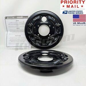 *Genuine* DORMAN® 924-218 Set of 2 REAR L & R Brake Backing Plates Dust Shields
