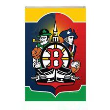 New listing Boston City Team SoxCelticsBruins Patriots Flag Banner 3x5ft