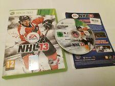 NHL 13 2013-UK Xbox 360 Eishockey Spiel VGC